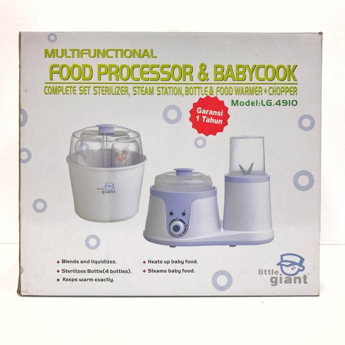 Food processor - bayi - little giant - perlengkapan