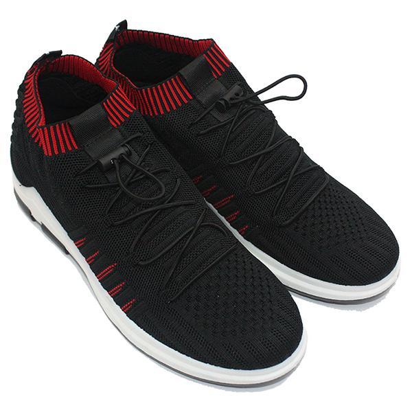 Dr. Kevin Sepatu Sneaker Pria 13363 - Hitam Merah f68290299f