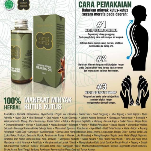 Minyak Kutus Kutus Tamba Waras Gianyar Bali Original - Isi 100ML