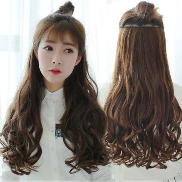 Hairclip Curly Korea (Light Brown) e91068da82