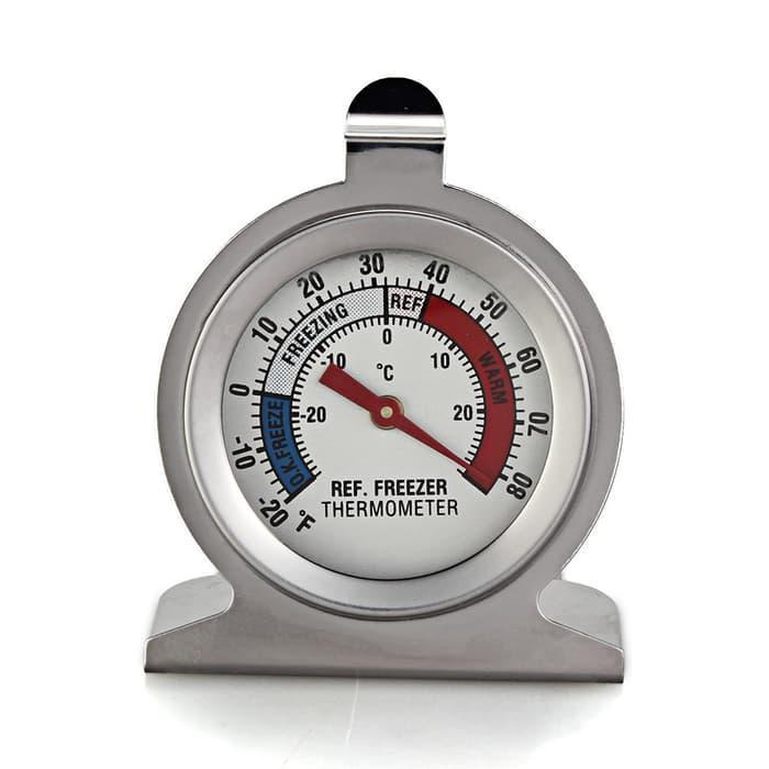 HARGA SPESIAL!!! Freezer Thermometer - Termometer Kulkas -20 - 50 celcius Refrigerator - Yl9kLL