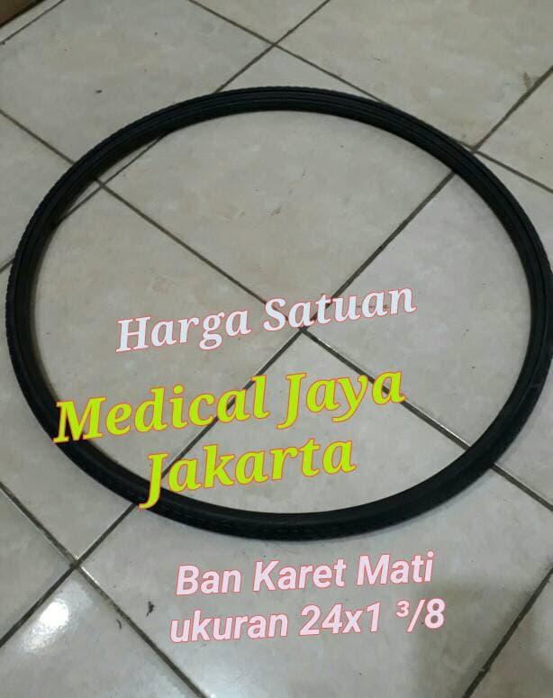 SALE - Ban Karet Mati Kursi Roda Ukuran 24X1 3/8 (55cm) Untuk Roda belakang Original