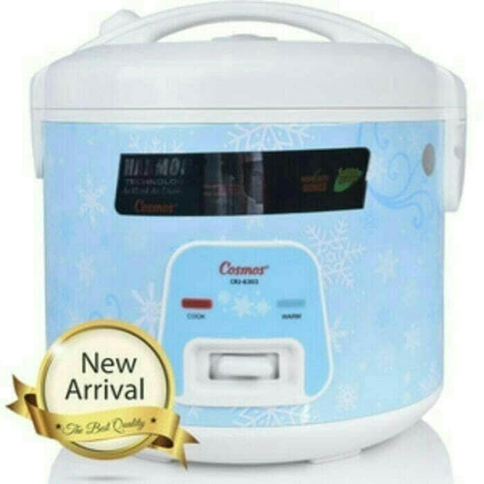 Rice cooker cosmos crj 6303 - magic com harmond cosmos 1.8L