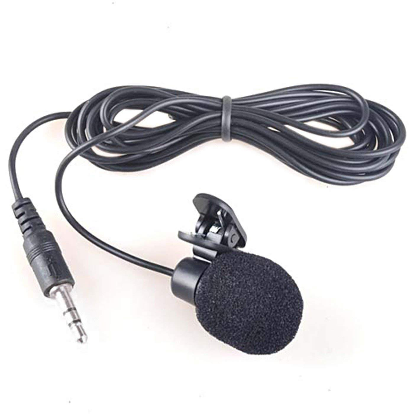 Mic microphone 3.5mm Lavalier Microphone Mini Hands Free Clip On Lapel Mic for Smartphones Cameras
