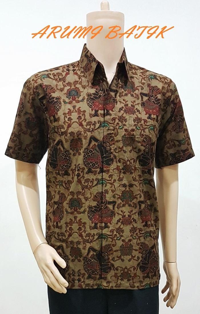 Kemeja / Hem / Atasan / Baju / Seragam Pria Batik Primis 1901 Semar