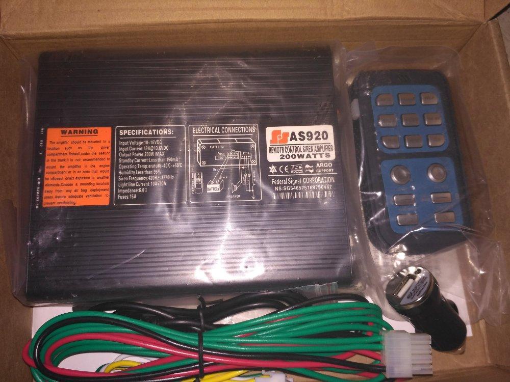 Sirine Patwal Wireles SA920 200 Watt
