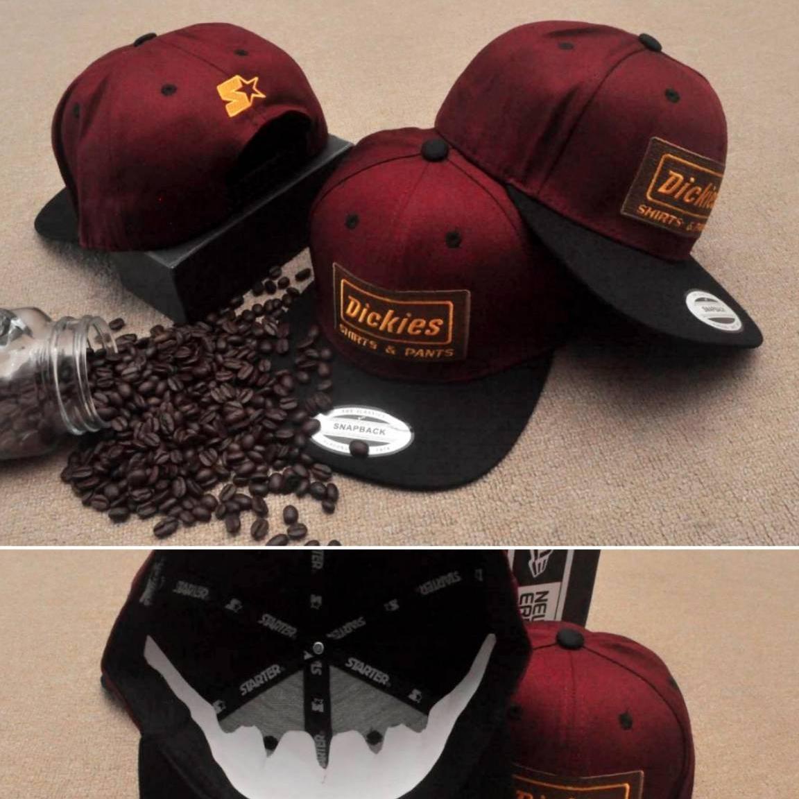 Topi Snapback Dickies   Disckies Original import   hat df5d0941b2