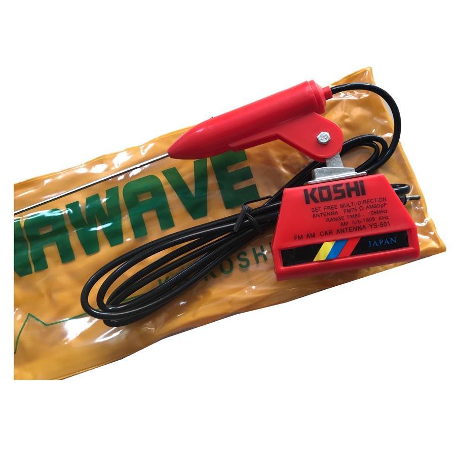 R4 Antena Radio Mobil Universal Chrome Daftar Harga Terlengkap Flexible 45cm 50cm Koshi Merah