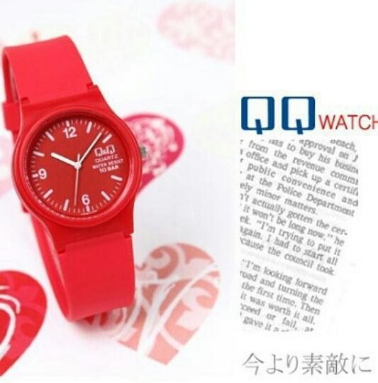 Q&Q Jam Tangan Fashion QQ/QnQ Anak - Anak Pria & Wanita New Edition Rubber