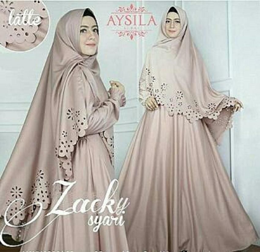 S'cokey-Baju Muslim Baju Gamis Pakaian Muslim Gamis Syar'i Gamis Jersey Baju Kurung Brukat