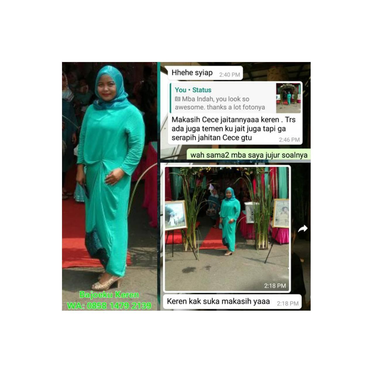 Promo Kaftan Long Dress Gamis Bridesmaid Dress Jasa Jahit Hot