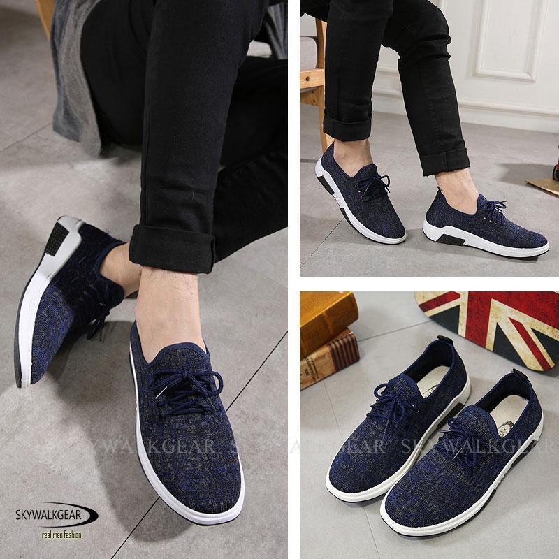 Skywalkgear Sepatu Sneakers Kasual Sepatu Pria Korea - STANLEY fef9bce624