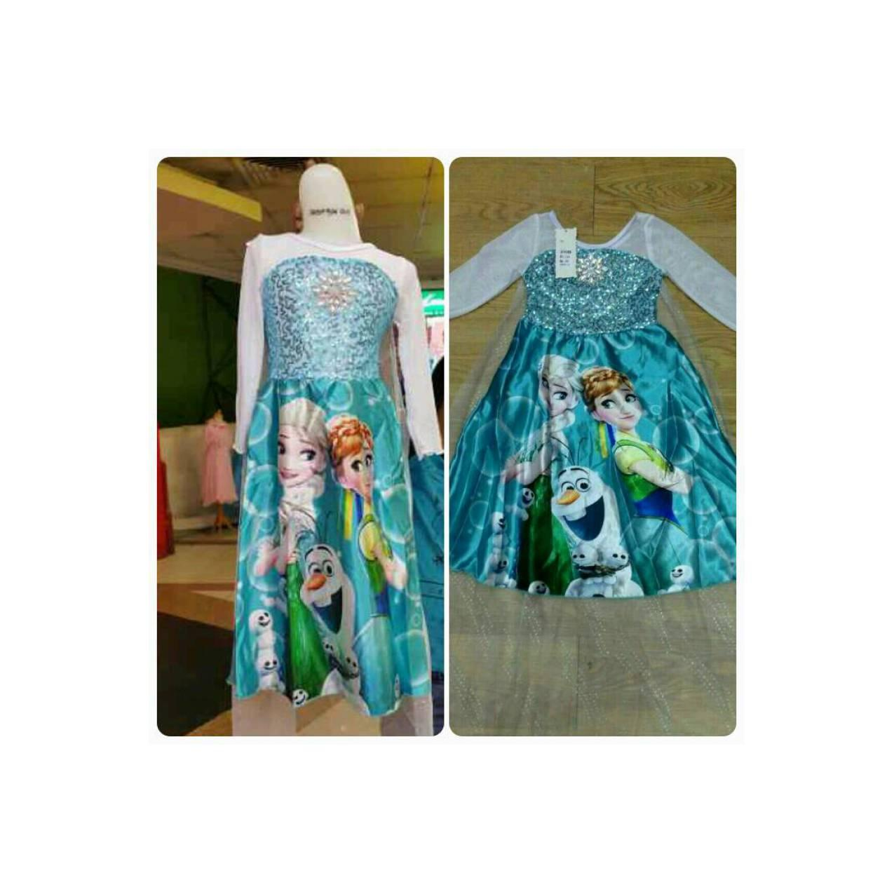 Dress/Gaun Elsa Frozen