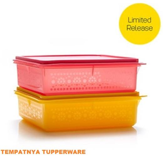 Tupperware Snak Stor (1pcs) Kuning dan Pink