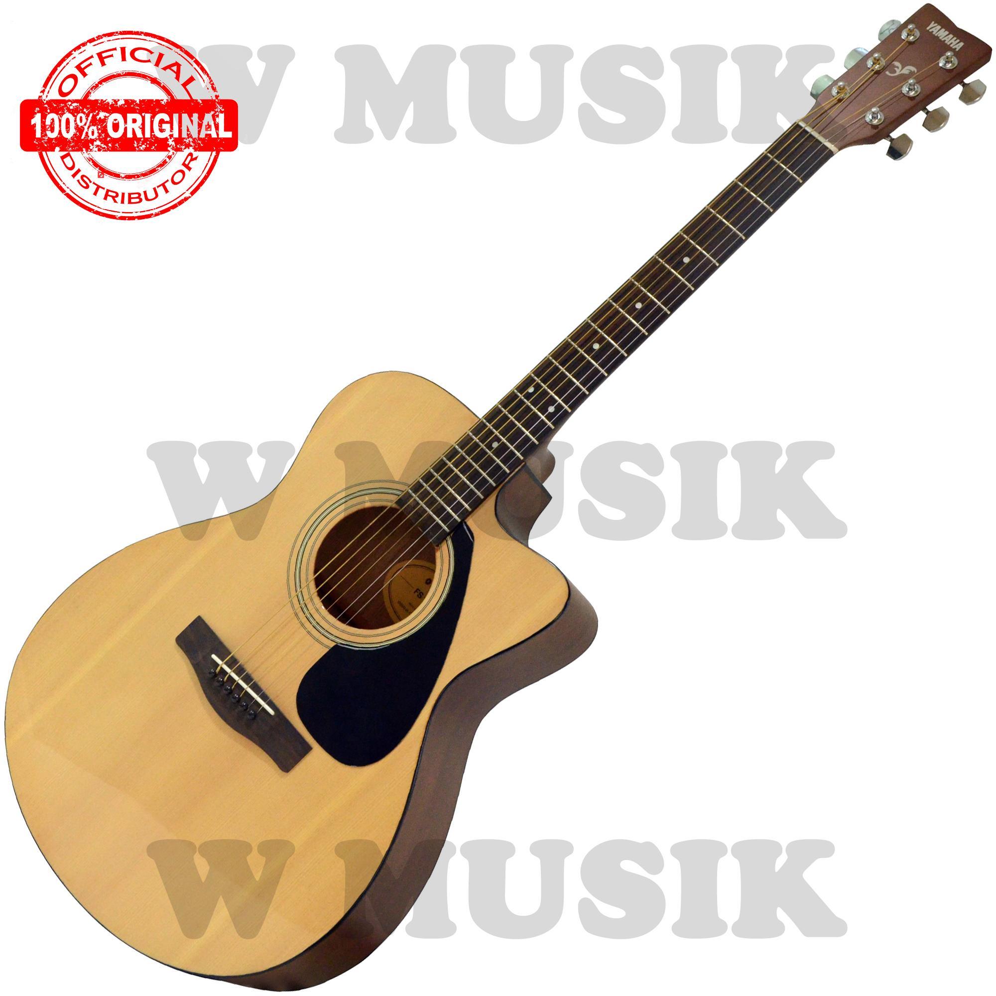 Yamaha Gitar Akustik Folk FS 100 C / FS100C / FS 100C / FS100NT - Natural
