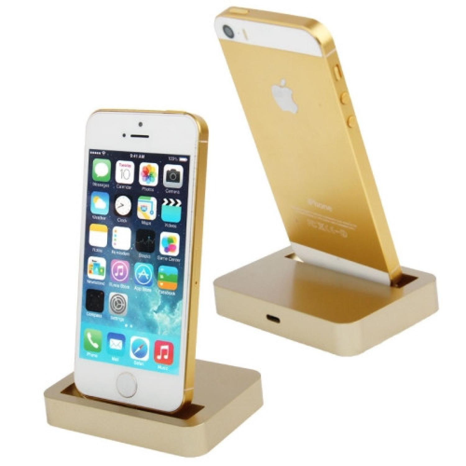Apple Charging Dock Lightning 8 Pin for iPhone 5/5s/5c/SE/iPod touch 5 HP Termurah
