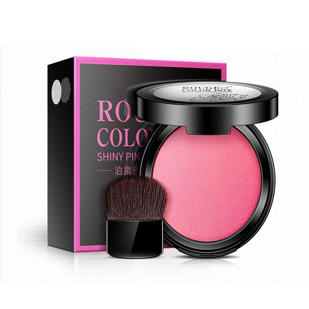 Bioaqua Blush On Rouge Color Box Shiny Pink