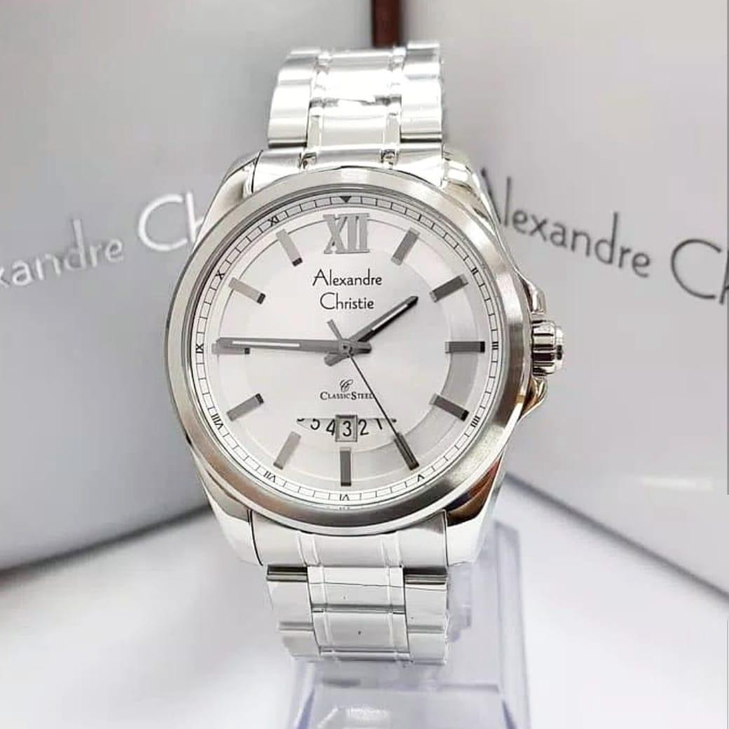Buy Sell Cheapest Alexandre Christie Ac8473m Best Quality Product Jam Tangan 01 Original Pria Stainless Steel