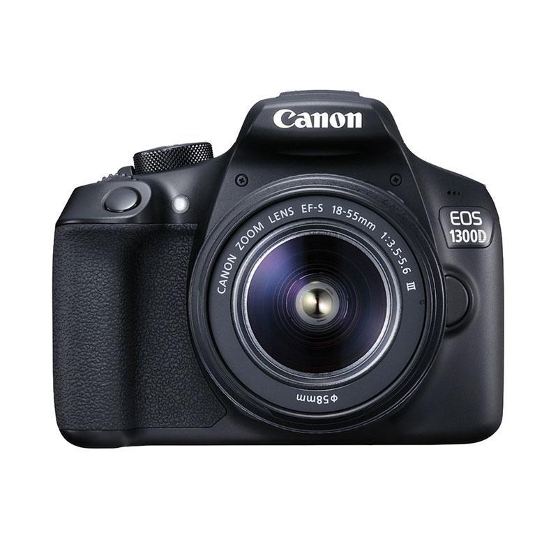 CAMERA CANON EOS 1300D KIT 18-55 isII free memory 16gb