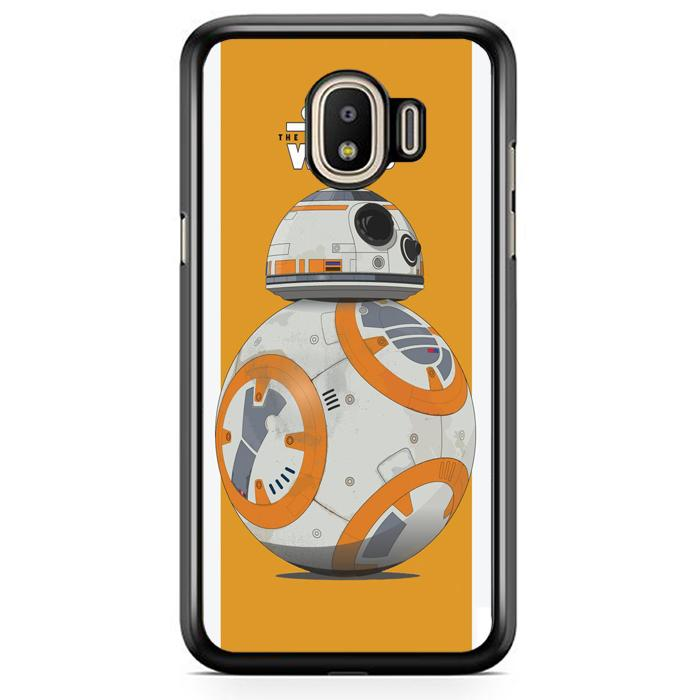 Casing Hardcase Samsung J2 Pro 2018 Motif Bb8 Force Awaken Star Wars Movies E1107