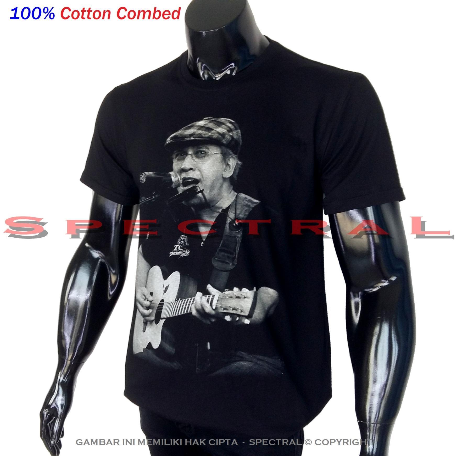 Spectral - Premium 100% Cotton Combed Iwan Fals Oi Orang Indonesia Gitar Musik Band Pop Artis Rock Metal Iwanfals Seni