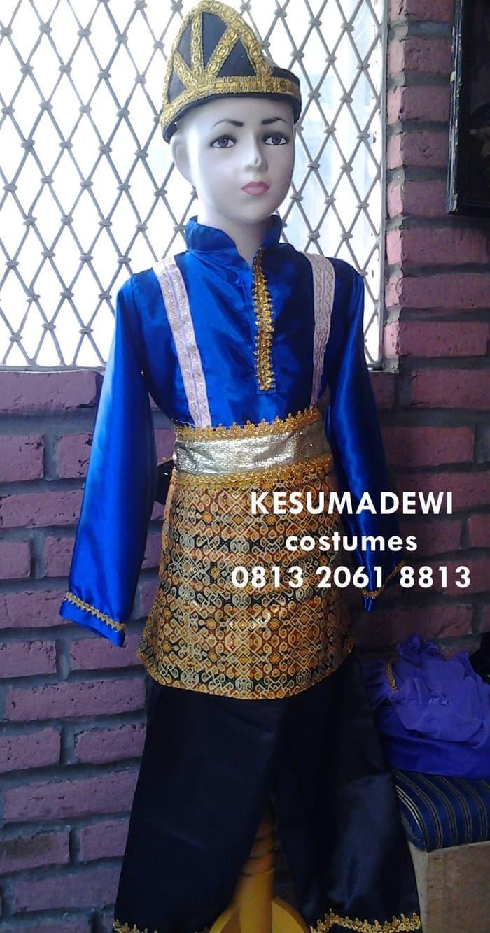 Terbaru! Tari Saman Anak Sd1-3|Baju Adat Karnaval Kostum Tradisional Daerah Ace - ready stock