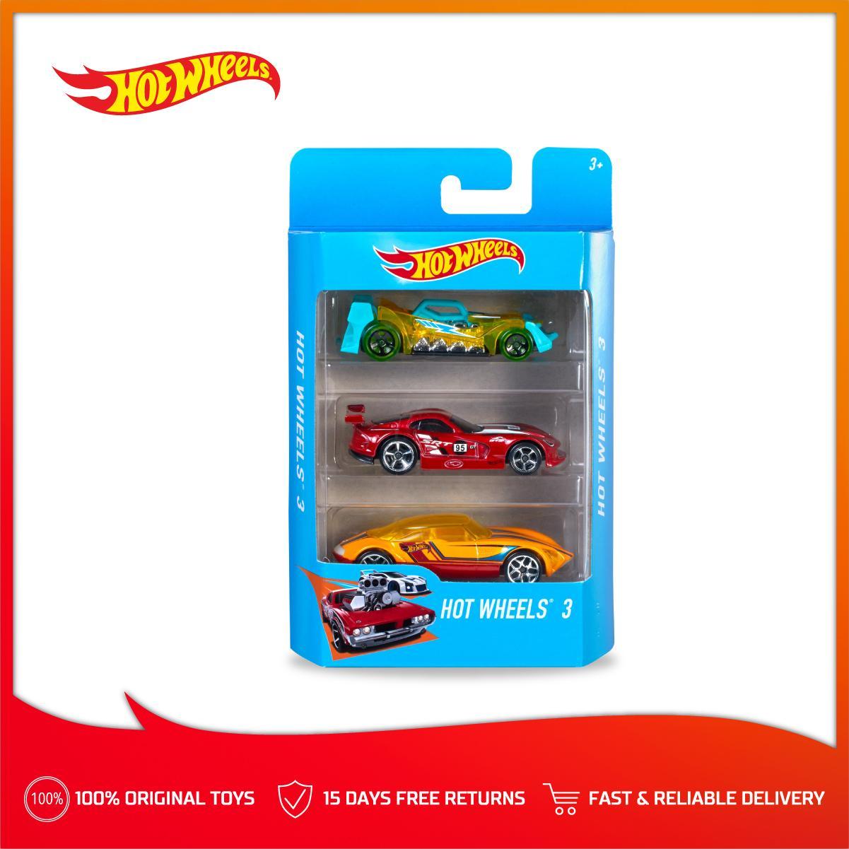 Hot Wheels 3-Cars Pack (Random)