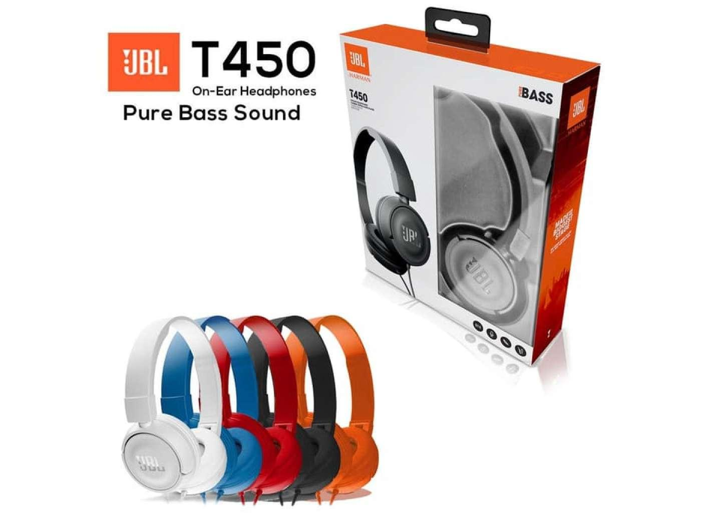 Buy Sell Cheapest Jbl T450 Pure Best Quality Product Deals In Ear Headphone T210 Hitam Bass