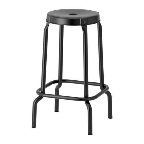 PROMO!! IKEA RASKOG Kursi bar, hitam MURAH /  BUBBLE 3 LAPIS / ORIGINAL / IKEA ORIGINAL
