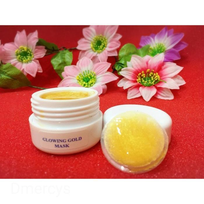 HN Glowing Gold Peel Off Mask Gel - masker Glowing gel ( 0000 1051)