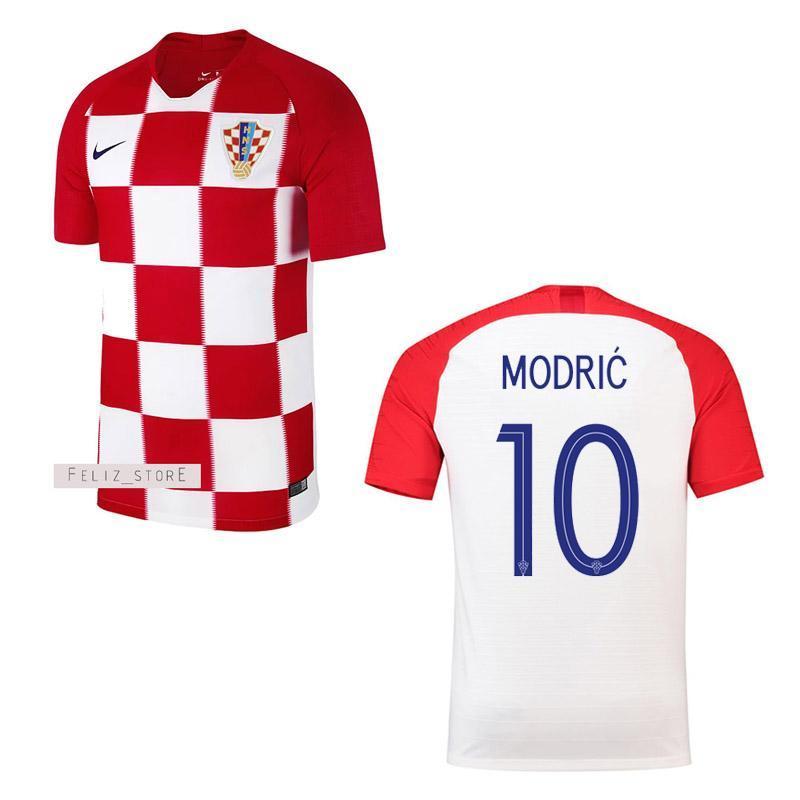 Jersey Bola Timnas Kroasia Home Piala Dunia 2018 Custom Nama & Nomor