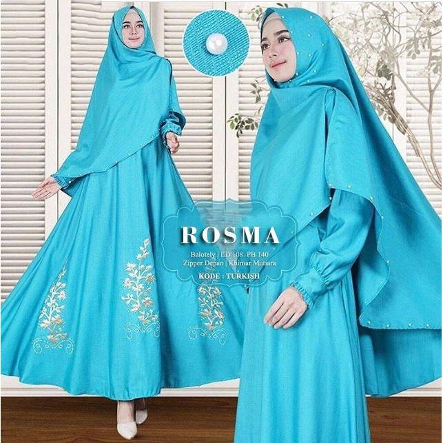 Lolypolyy Gamis Syari Rosma - Dress Muslimah / Fashion Muslim / Baloteli / Hijab / maxi