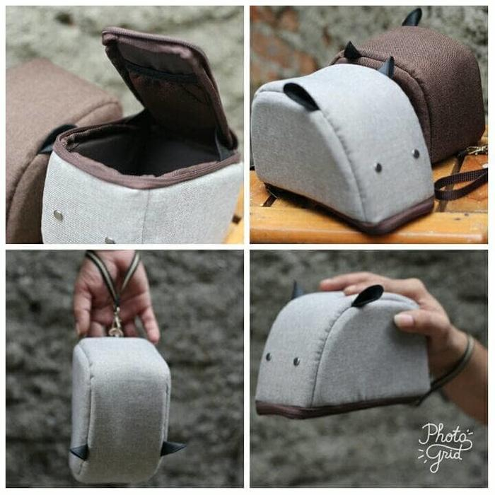 Promo tas kamera mini mirrorless fuji sony olympus canon nikon mouse original