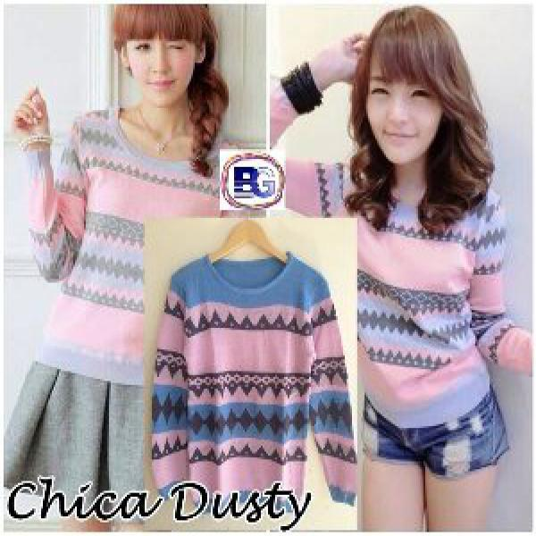 NEW CHICA DUSTY - SWEATER TRIBAL