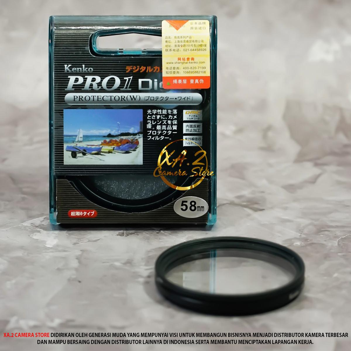 UV FILTER 58MM PRO BENING DIAMETER LENSA 58MM