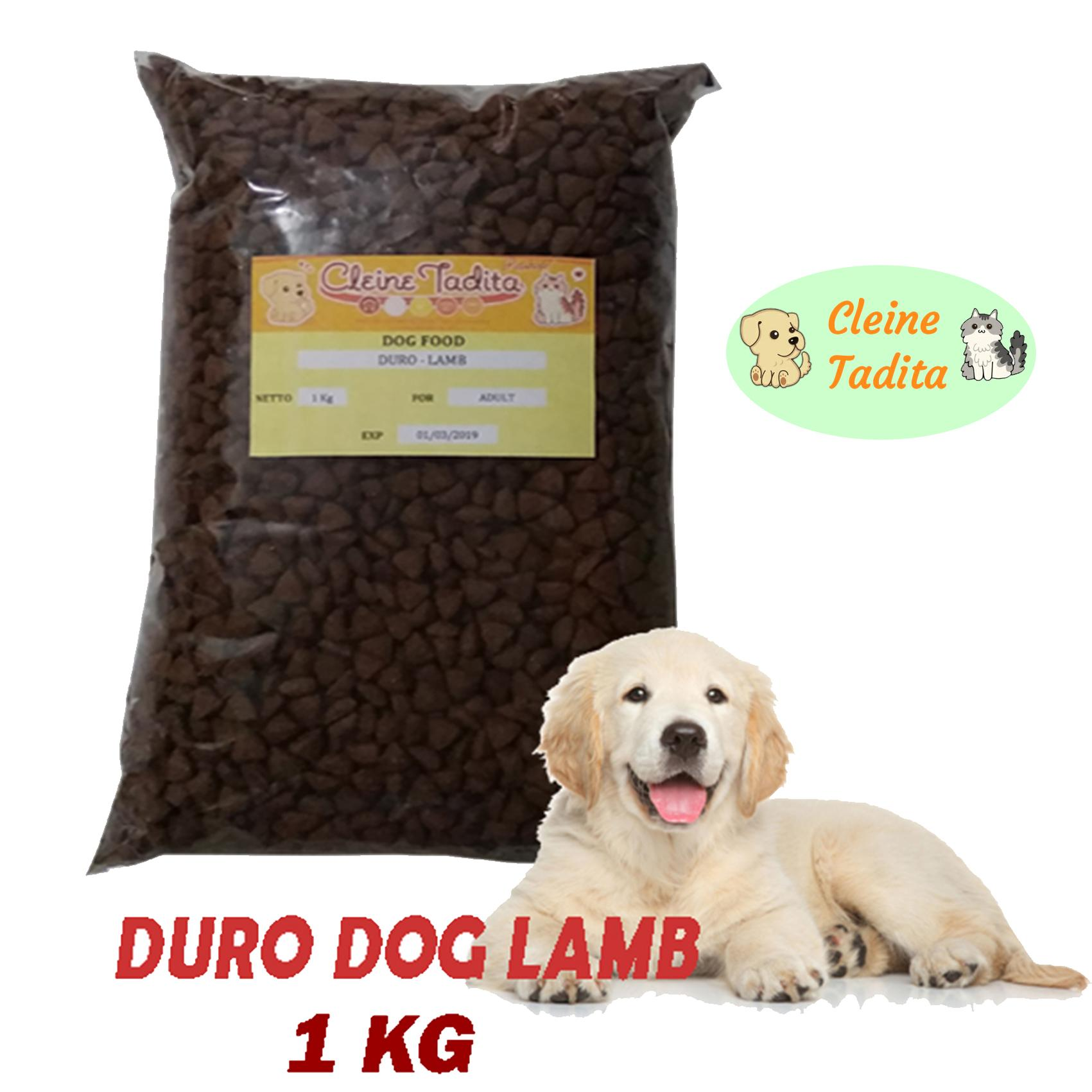 Cleine Tadita Petshop - Makanan Anjing Duro Lamb Repack 1kg By Cleine Tadita Petshop