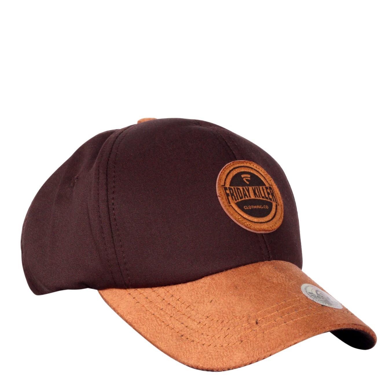 7b702cbeb Dgm Fashion1 Topi Polos Combinasi Coklat Topi Hitam Polos Topi Combinasi   Topi Denim