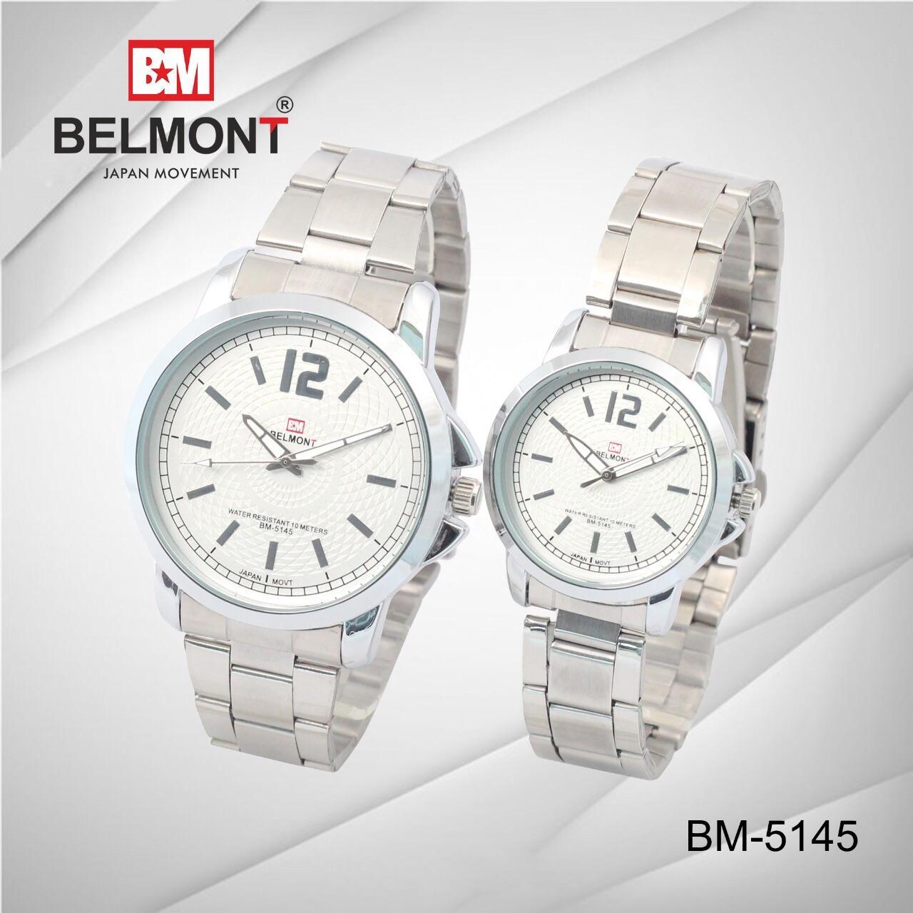 Jam tangan couple belmont terbaru anti air dan awet