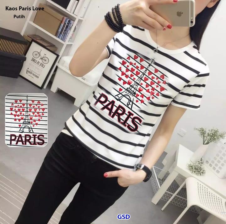 GSD - Baju Atasan Wanita / Baju Lengan Panjang / Baju Casual Remaja / Blus Strip