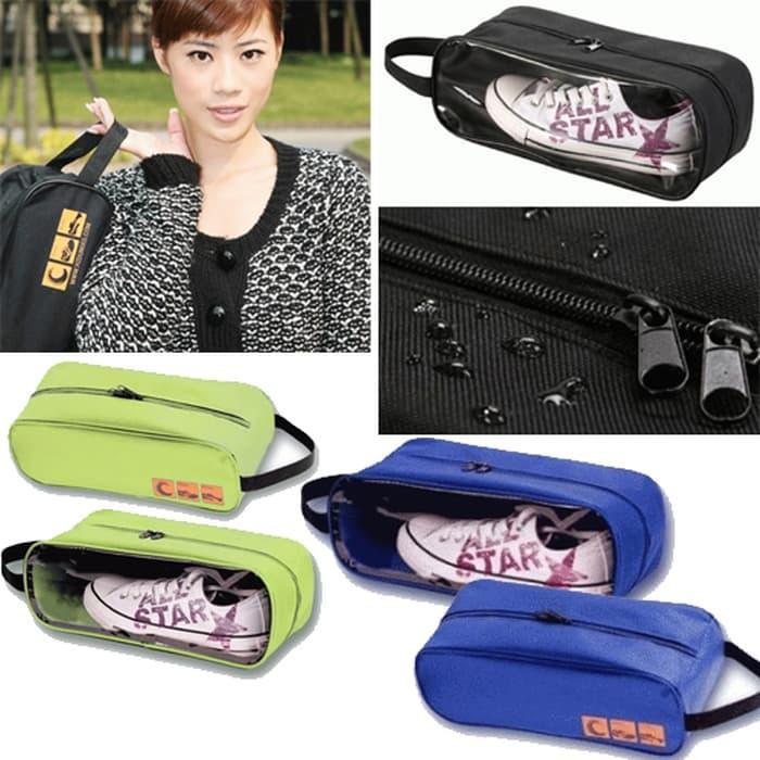 Promo  Tas Sepatu Sendal Futsal Fitnes bola Olahraga Nike Organizer Shoes Bag  original