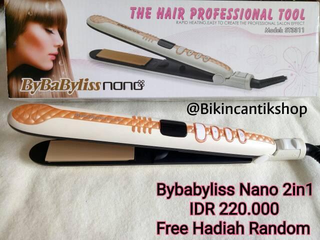 catokan Bybabyliss nano 2in1 , catokan babyliss, catokan 3in1 , hairdryer amara ladystar kemei Variasi Tidak Ada