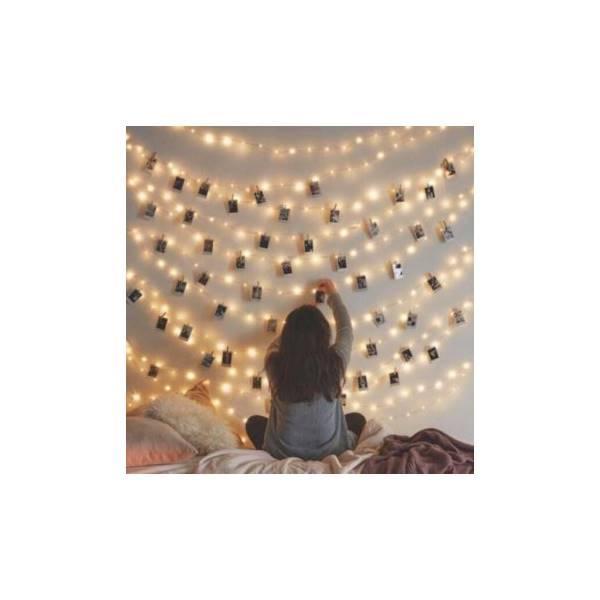 Termurah Lampu LED Tumblr Lampu Natal  Hias ricelamp RGB Warna Warni Outdoor U8 U9 U10 Q7 Q9