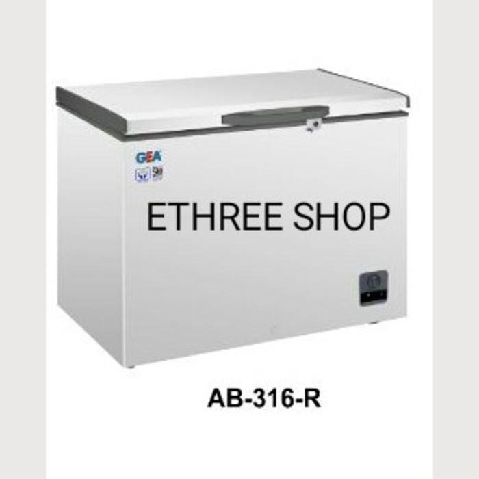 Gea Chest Freezer Ab 316R/ Lemari Pembeku/ Murah - Q3iwgv