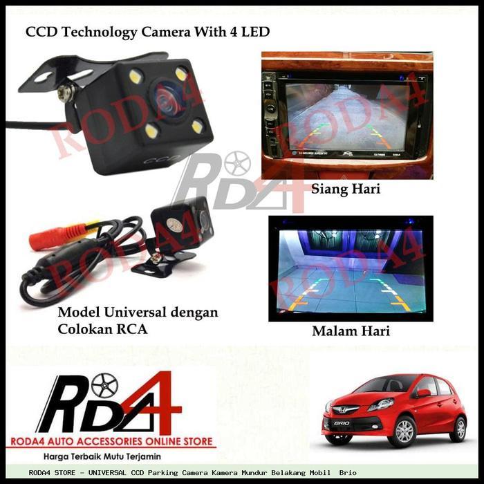 UNIVERSAL CCD Camera Kamera Mundur Belakang Mobil  Brio