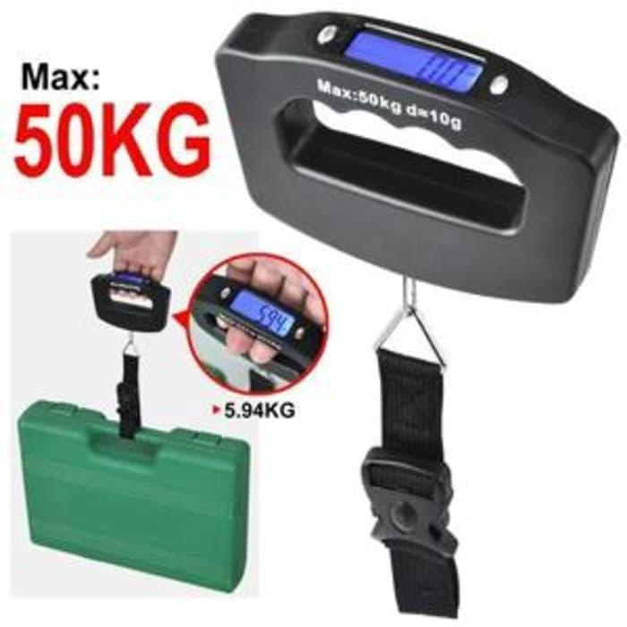 Timbangan Koper Bagasi Digital Electronic Luggage Scale Travel Weight By Grosirkemeja.