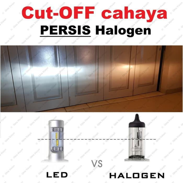 Barang Berkualitas Lampu LED Mobil ZES Lumileds H7 H11 H16 HB3 HB4 HIR2 25W