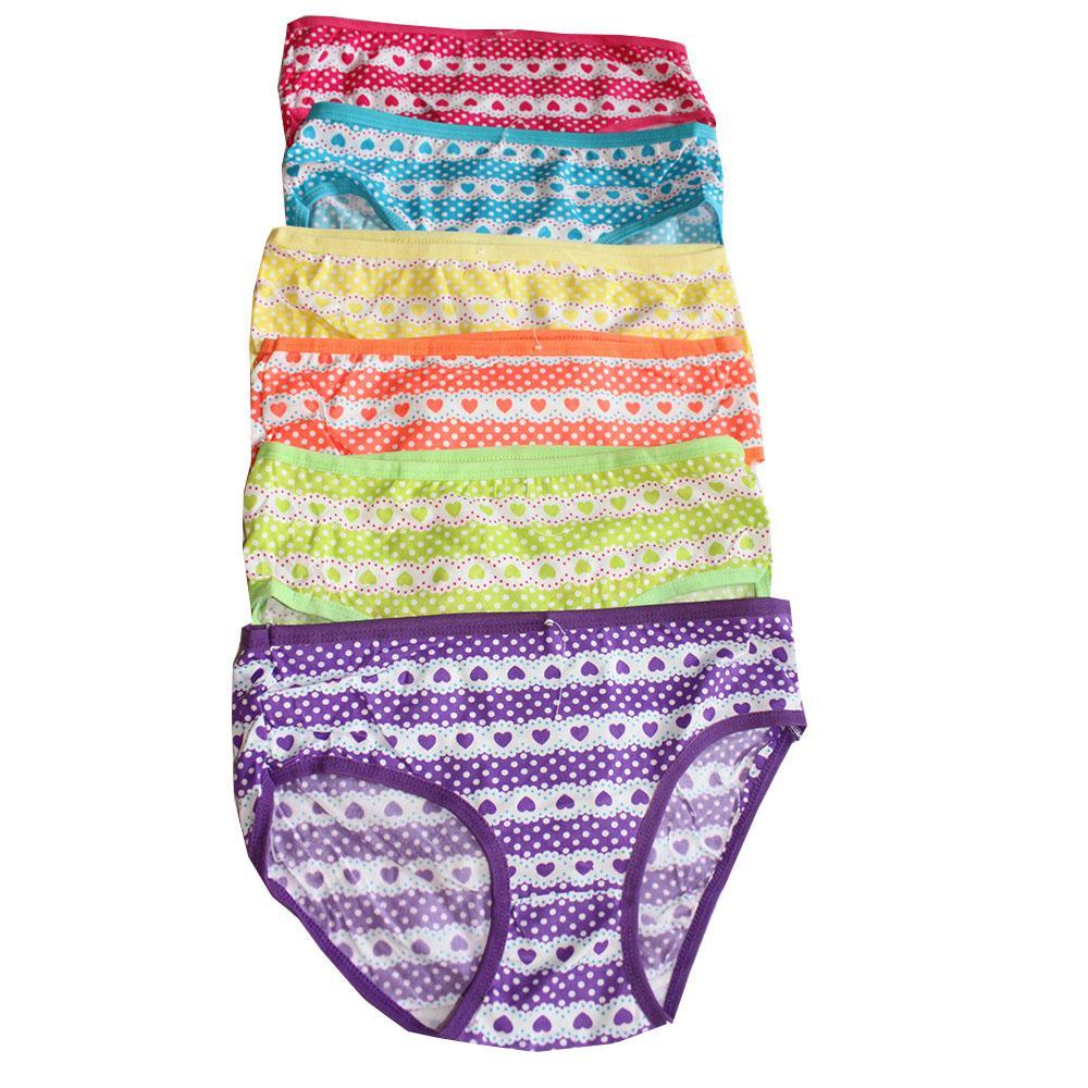 Aily Celana Dalam Busa Bokong Semi Korset 6650 Sorex Shapewear Corset Ba016 Cream Xl G30011 Wanita Katun Motif Love 6 Pcs Multicolor