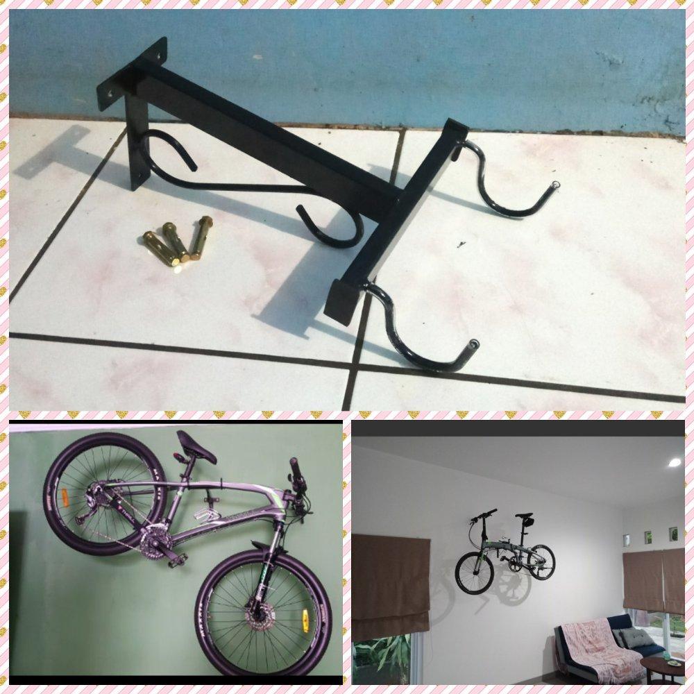 gantungan sepeda di dinding Blessing speed Gantungan Termurah gantungan bagus HangerLutfi Arif setiawan . lutfi_setiawan