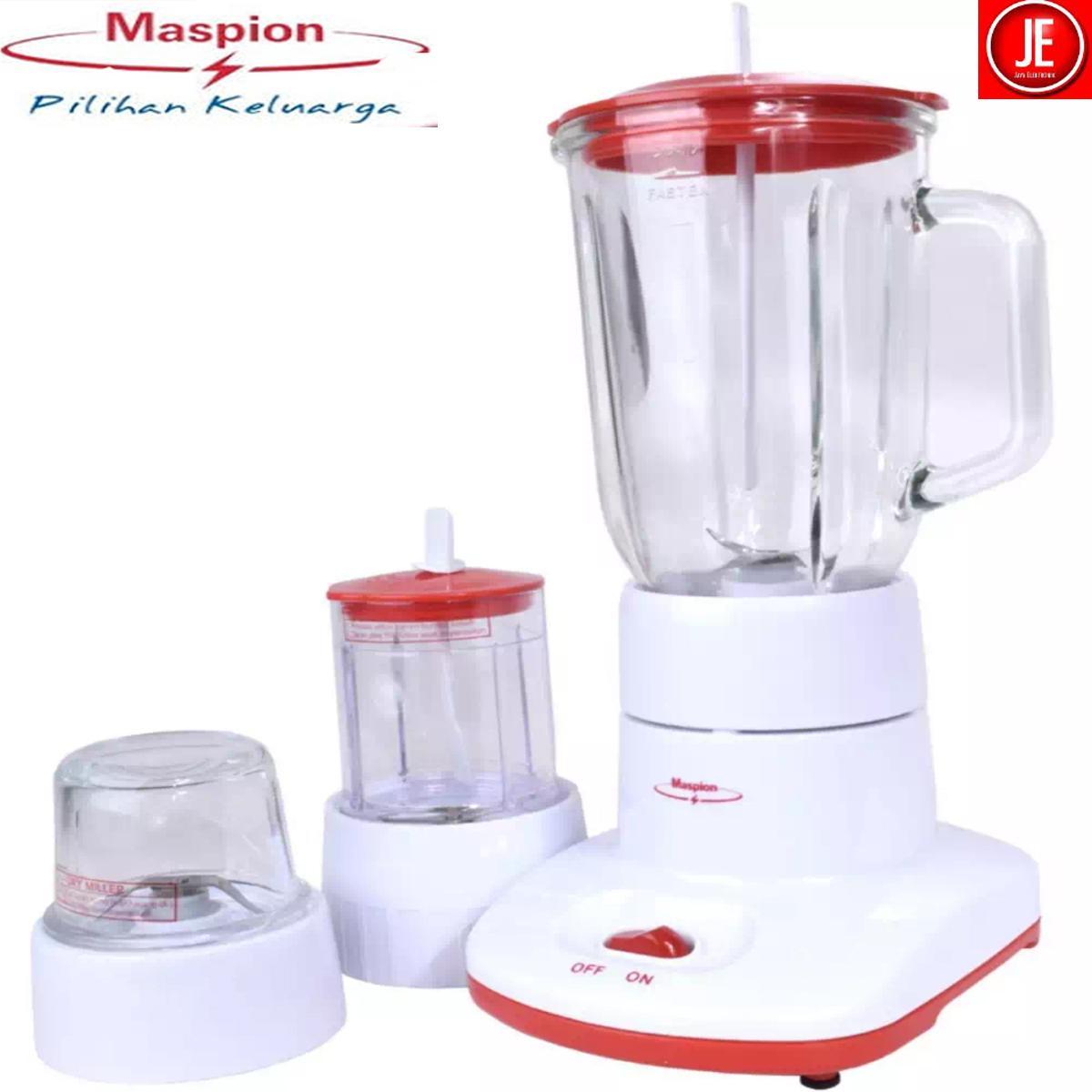 Maspion Blender Glass 1 Liter 3in1 - MT1213 garansi resmi