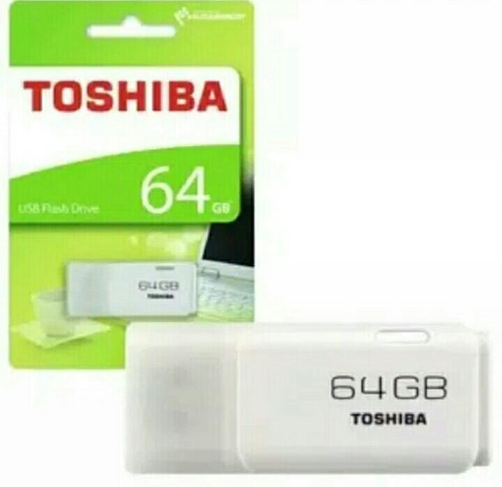 SELALUADA - Flashdisk Toshiba 64GB / Flash Disk Toshiba 64GB / Flash Drive Toshiba 64GB